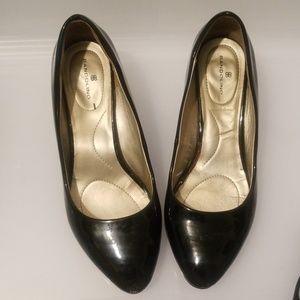 Classic, Black Patent Leather Bandilinos
